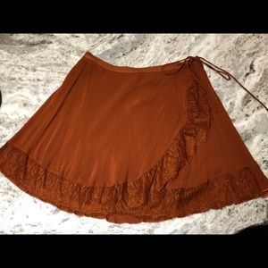 Free People Intimately Wrap Skirt